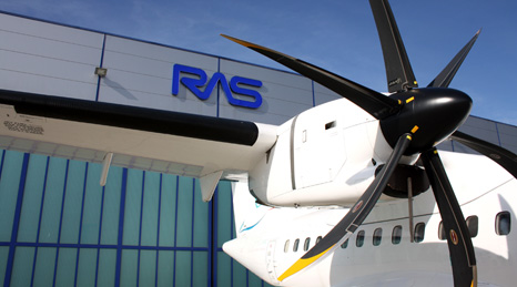 RAS, ATR turboprop engine, MRO
